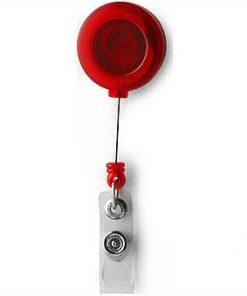 Flexibele pashouder rood-0