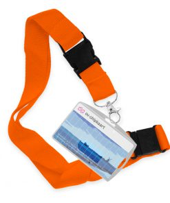 Keycord Breed Oranje