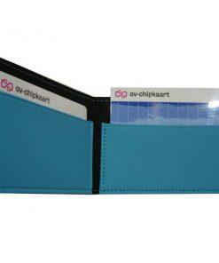 Pashouder Luxe zeeblauw