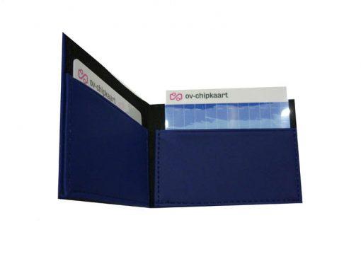 Pashouder Luxe Donkerblauw