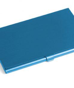 Aluminium kaarthouder blauw