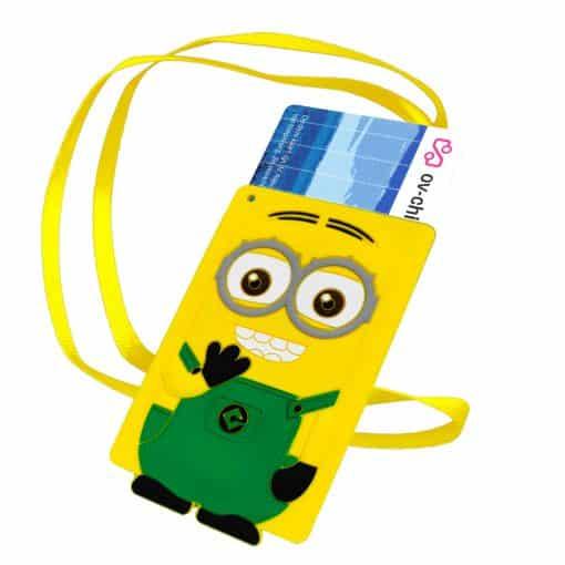 OV-hanger figuur Minion Groen