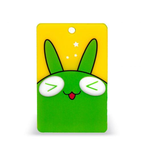 OV-hanger figuur konijn groen-9086