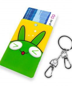 OV-hanger figuur Konijn groen