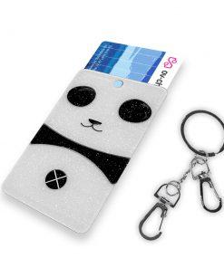 OV-hanger figuur Panda Glitter