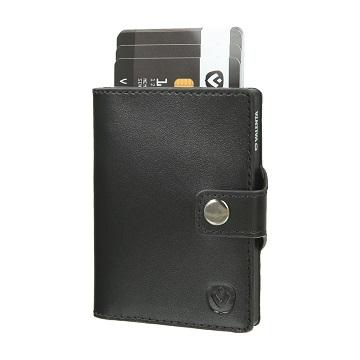 Valenta Wallet Case Zwart
