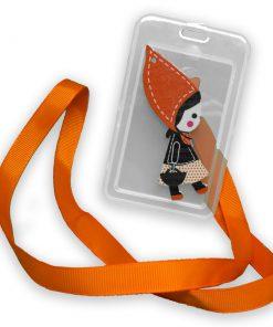 OV-hanger figuur Vrouwtje Oranje