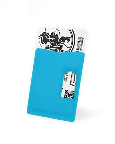 Kaarthouder RFID Blauw