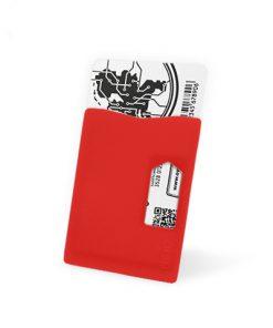 Kaarthouder RFID Rood