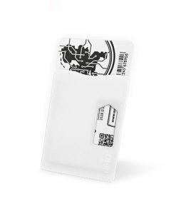 Kaarthouder RFID Wit